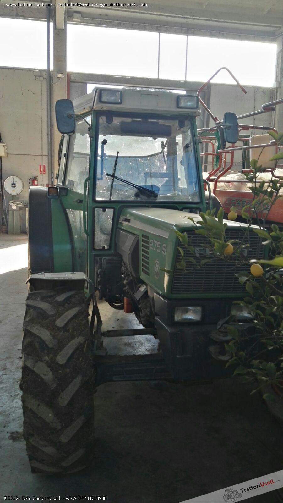Trattore fendt - 275s 5