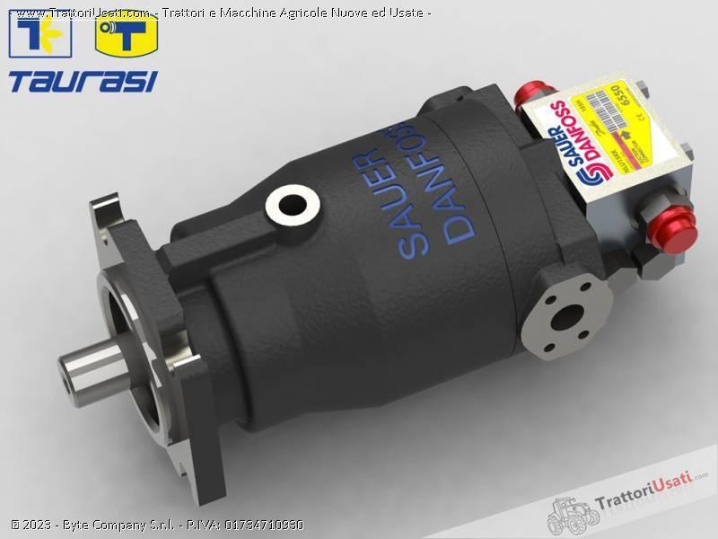 Pompa e morore idrostatici  - motore e pompa per mietitrebbia laverda-cnh 0