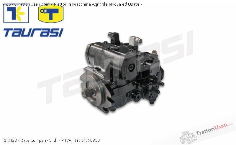 Pompa e morore idrostatici  - motore e pompa per mietitrebbia laverda-cnh 2