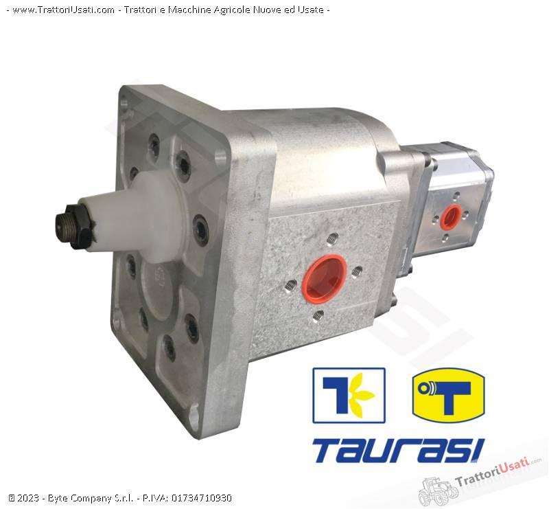 Pompa e morore idrostatici  - motore e pompa per mietitrebbia laverda-cnh 5