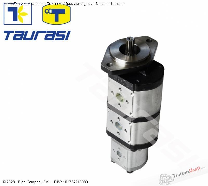 Pompa e morore idrostatici  - motore e pompa per mietitrebbia laverda-cnh 6