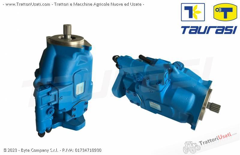 Pompa e morore idrostatici  - motore e pompa per mietitrebbia laverda-cnh 7