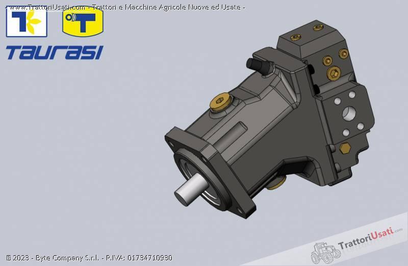 Pompa e morore idrostatici  - motore e pompa per mietitrebbia laverda-cnh 9