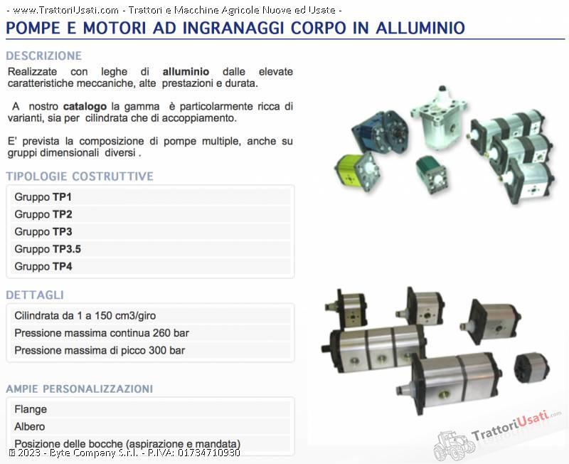 Pompe e motori a pistoni assiali  - oleodinamiche e motori oleodinamici taurasi 1