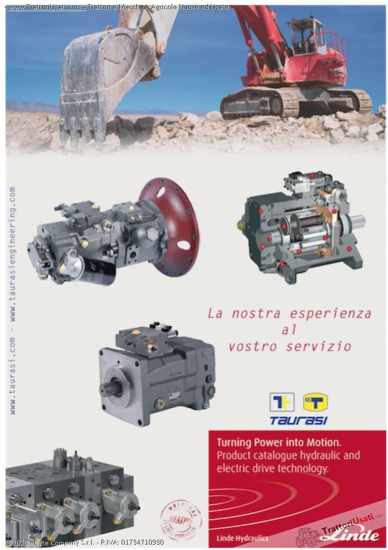 Pompe e motori a pistoni assiali  - oleodinamiche e motori oleodinamici taurasi 3