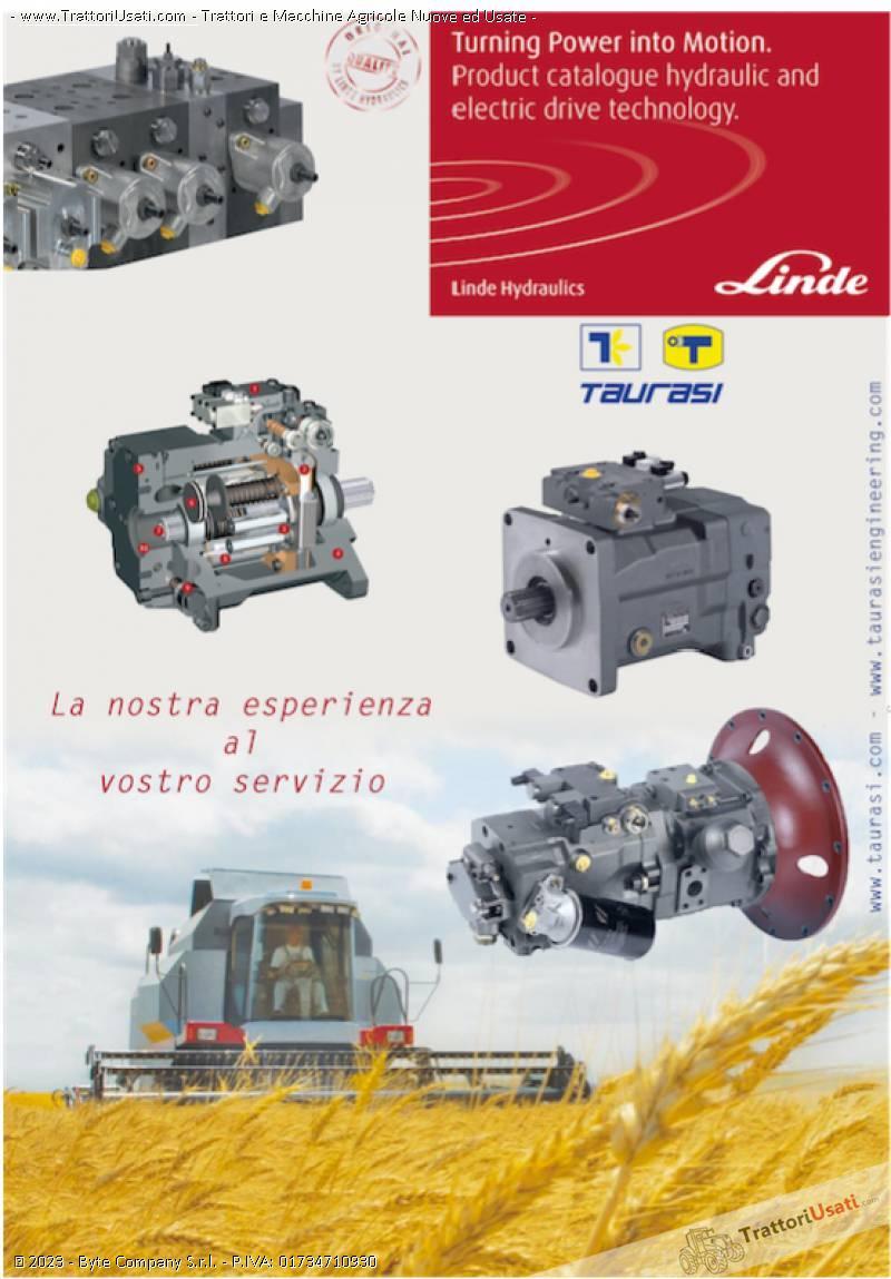 Pompe e motori a pistoni assiali  - oleodinamiche e motori oleodinamici taurasi 4
