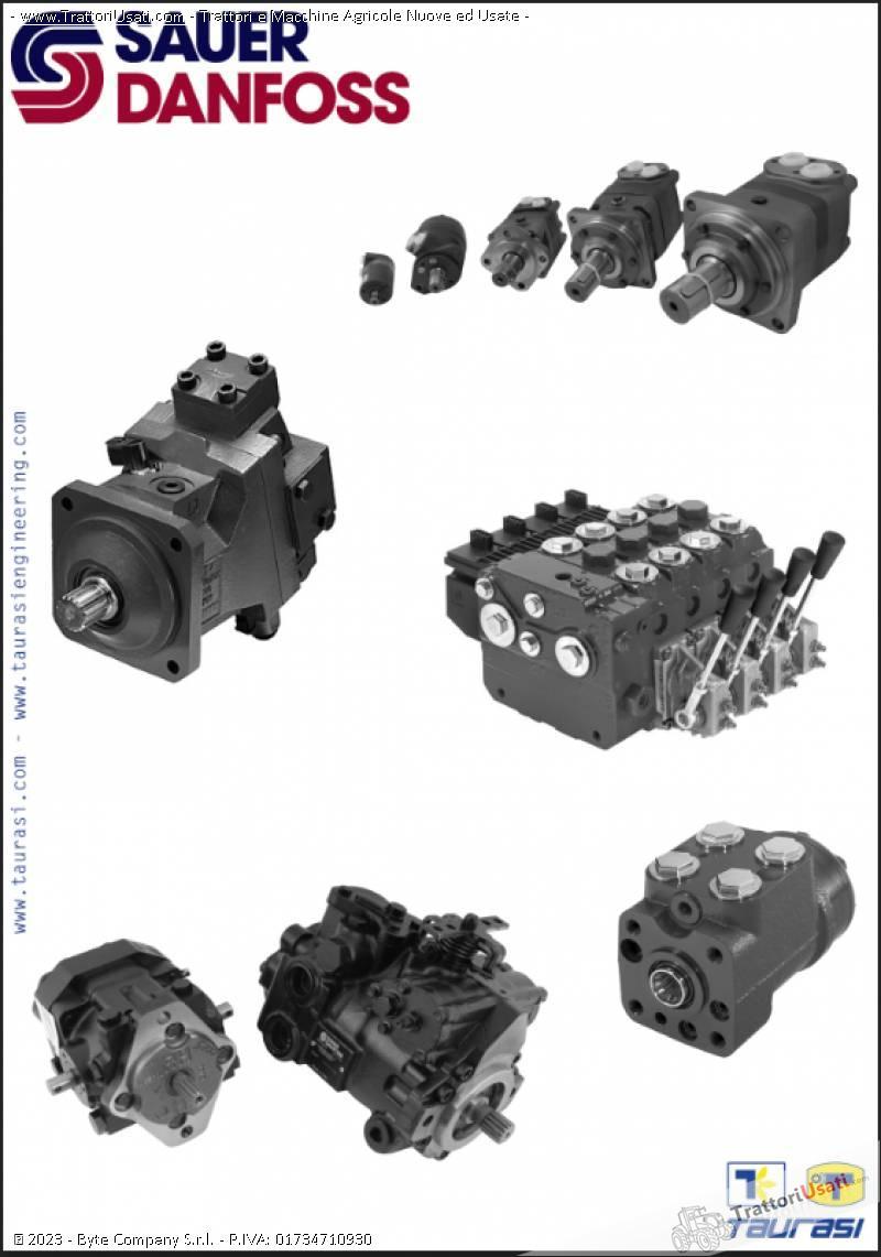 Pompe e motori a pistoni assiali  - oleodinamiche e motori oleodinamici taurasi 6