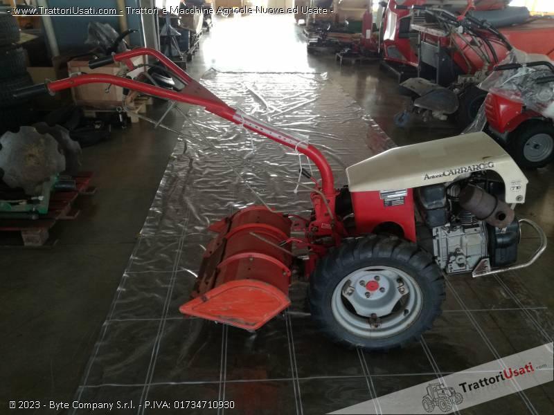 Motocoltivatore carraro a diesel con fresa for Motocoltivatore carraro