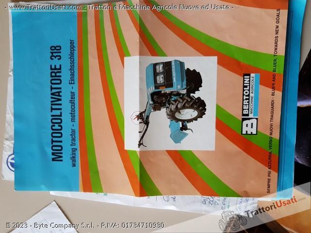Motocoltivatore bertolini - 318 0