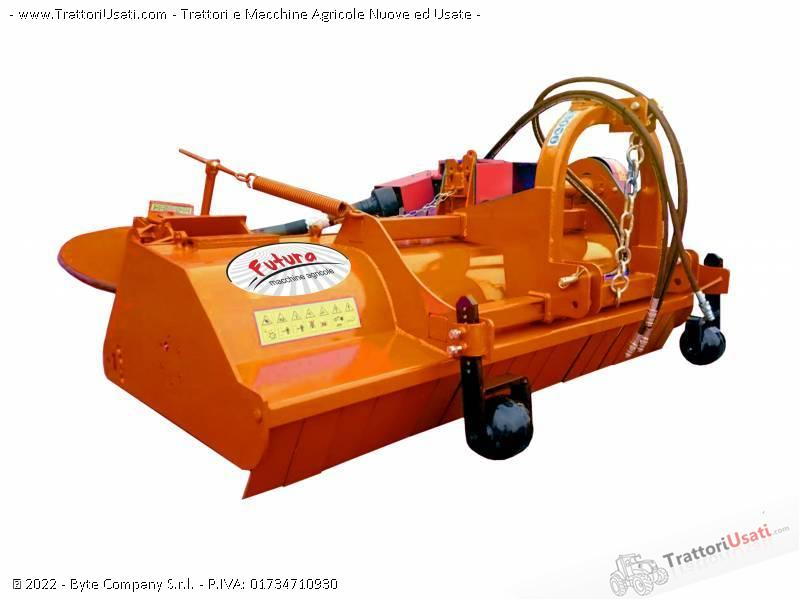 Trincia  - nettuno 200 con disco interfilare futura macchine agricole 0