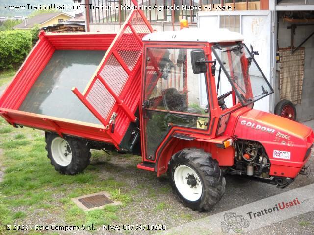Transporter goldoni - transcar 33 cv ruote sterzanti 2