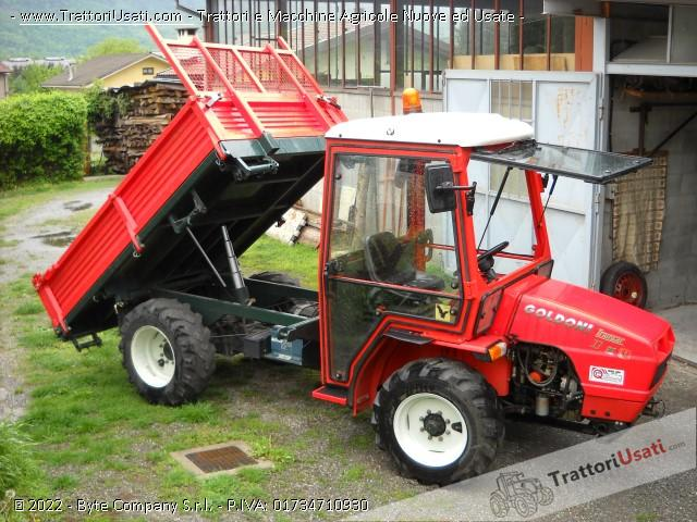 Transporter goldoni - transcar 33 cv ruote sterzanti 5
