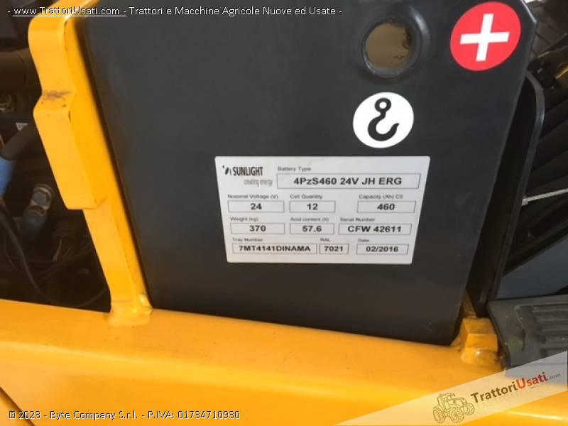 Carrello elevatore  - jungheinrich efg110k 5