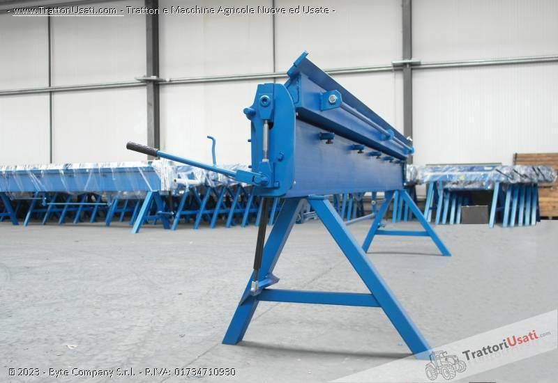 Piegatrici manuali  - per lamiera zgr 4140mm/0.8 mm 0