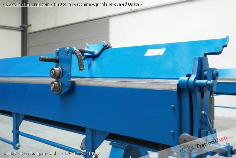Piegatrici manuali  - per lamiera zgr 4140mm/0.8 mm 2