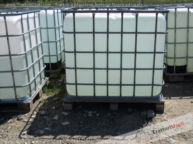 Botte  - cubo 1000 litri per liquidi 1