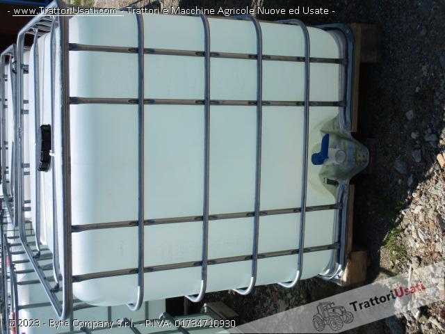 Botte  - cubo 1000 litri per liquidi 3