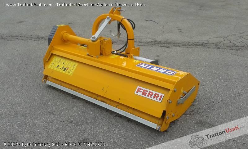 Trincia  - ferri mt 160 a martelli 0