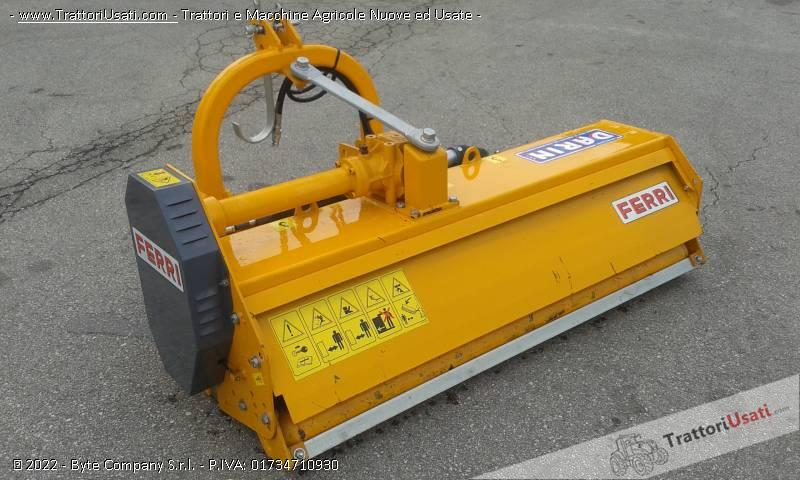 Trincia  - ferri mt 160 a martelli 2