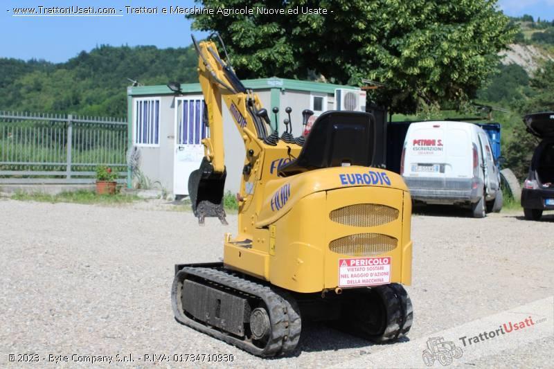 Mini escavatore  - gr700 a3 minidig fiori 2