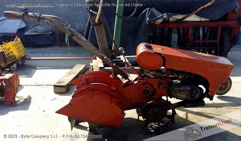 Motozappatrice  - piter con motore minarelli fresa cm 60 0