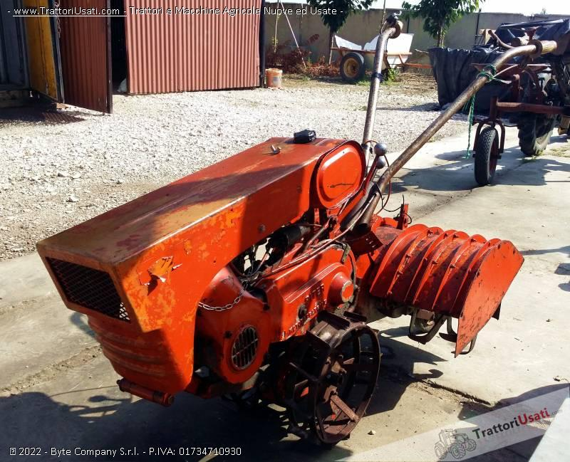 Motozappatrice  - piter con motore minarelli fresa cm 60 1