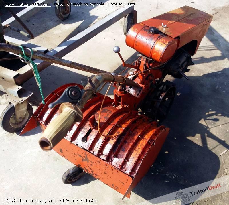 Motozappatrice  - piter con motore minarelli fresa cm 60 2