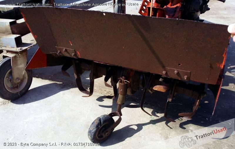 Motozappatrice  - piter con motore minarelli fresa cm 60 3