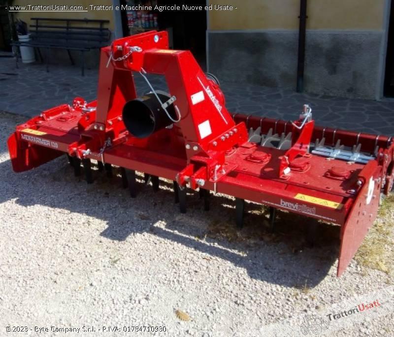 Erpice rotante  - mek farmer 120 breviglieri 4