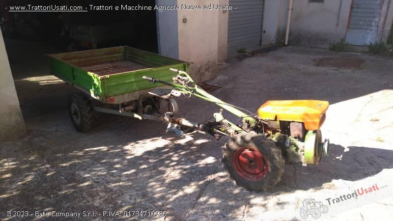 Motocoltivatore grillo - rimorchio e fresa 0