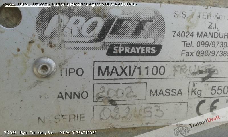 Atomizzatore  - maxi-1100 project 2