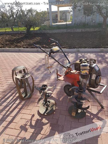 Motozappatrice  - 10 cv ruggerini 0