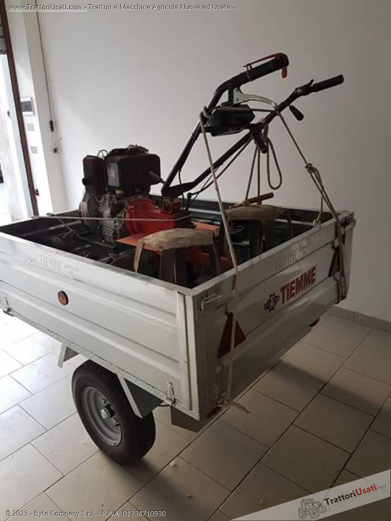 Motozappatrice  - 10 cv ruggerini 1