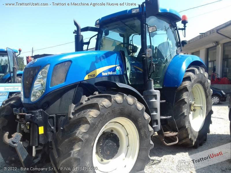Trattore new holland - t7030 0