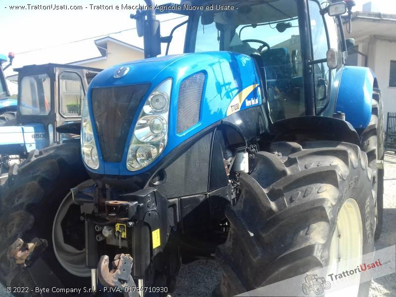 Trattore new holland - t7030 1