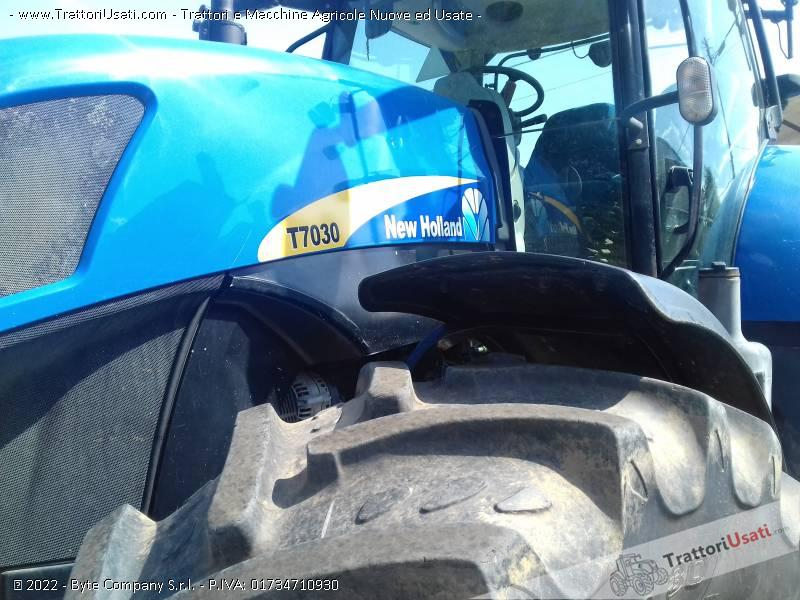 Trattore new holland - t7030 2