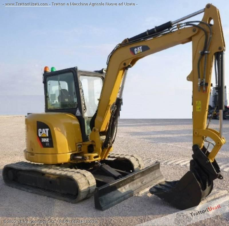 Escavatore  - 305 ecr caterpillar 3