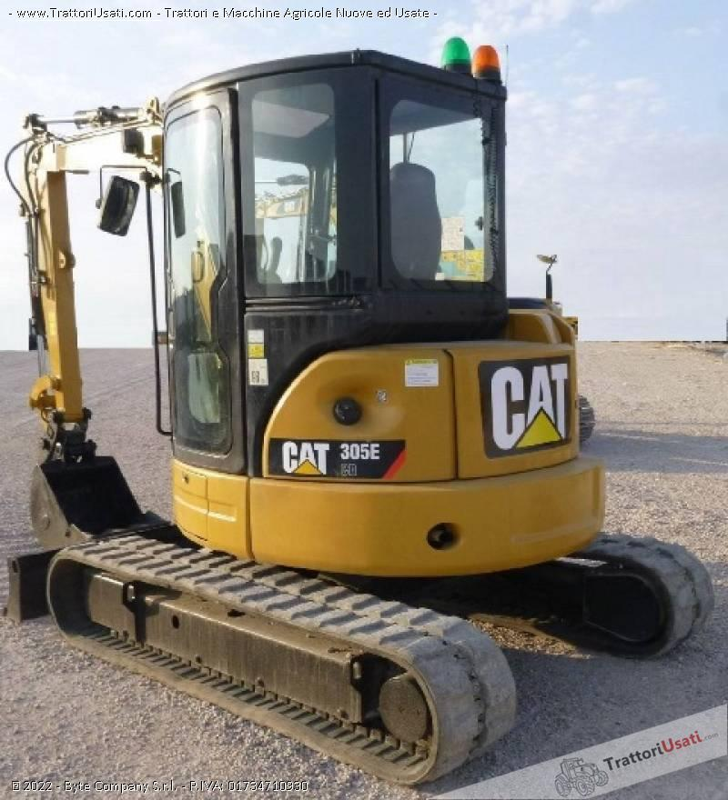 Escavatore  - 305 ecr caterpillar 5