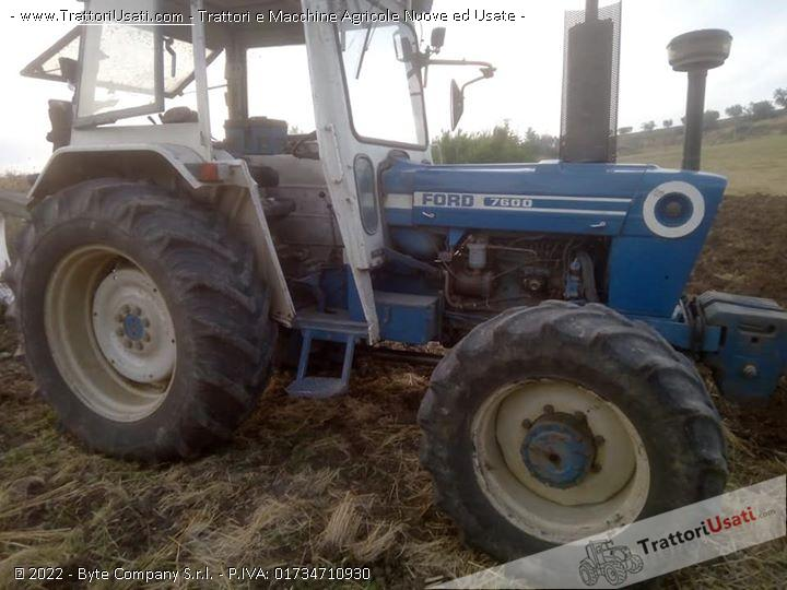 Trattore ford - 7600 0