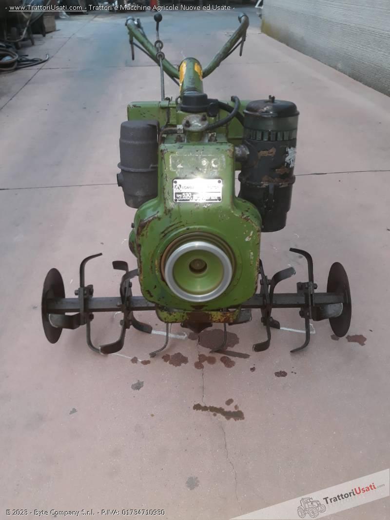 Motozappa lombardini - 10 hp funzionante 0