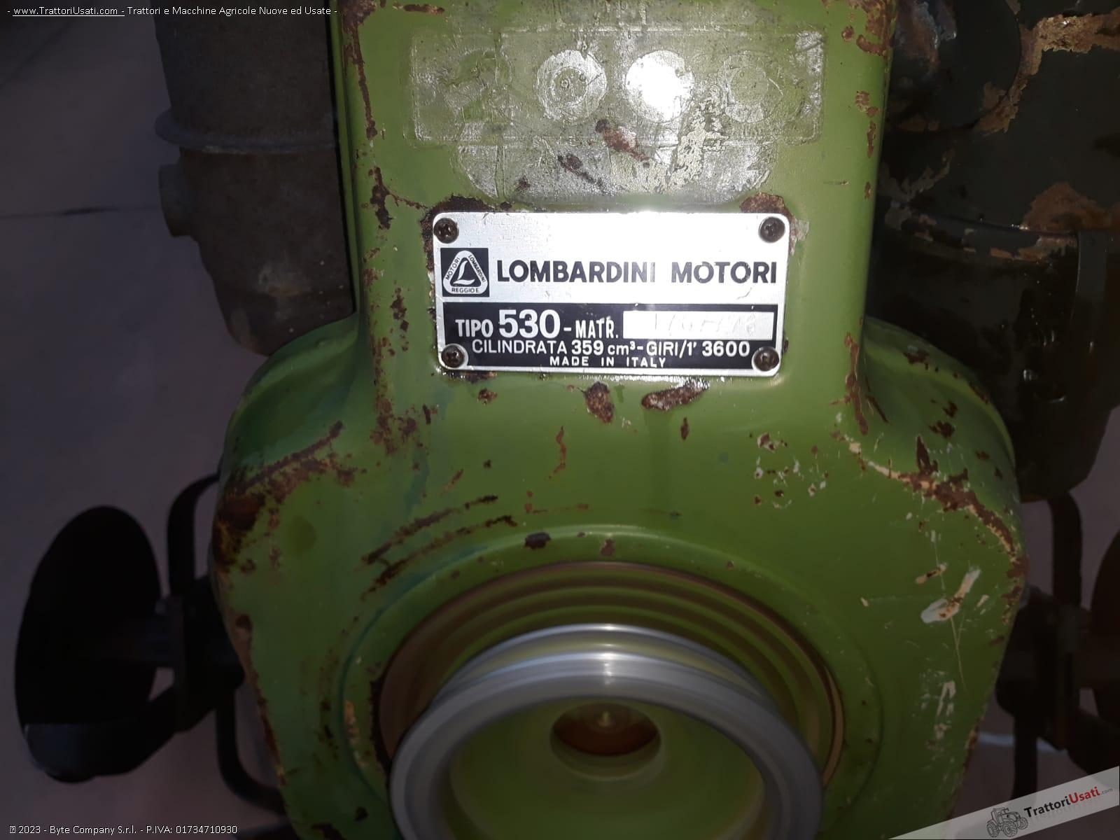 Motozappa lombardini - 10 hp funzionante 1