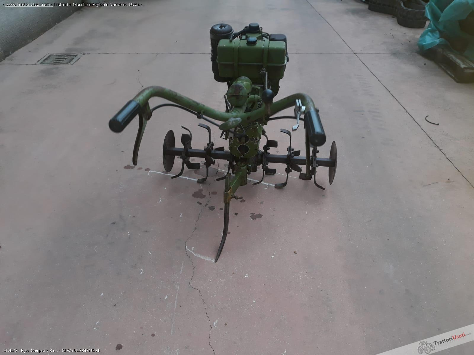 Motozappa lombardini - 10 hp funzionante 2
