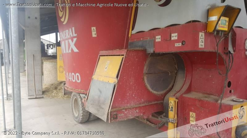 Carro miscelatore  - af1400 general mix 0