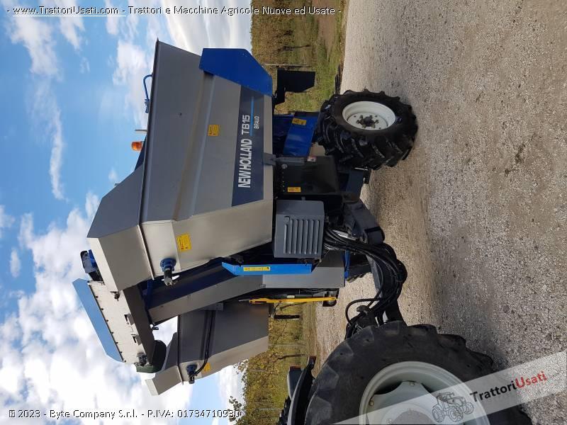 Vendemmiatrice new holland - tb 15 braud 0