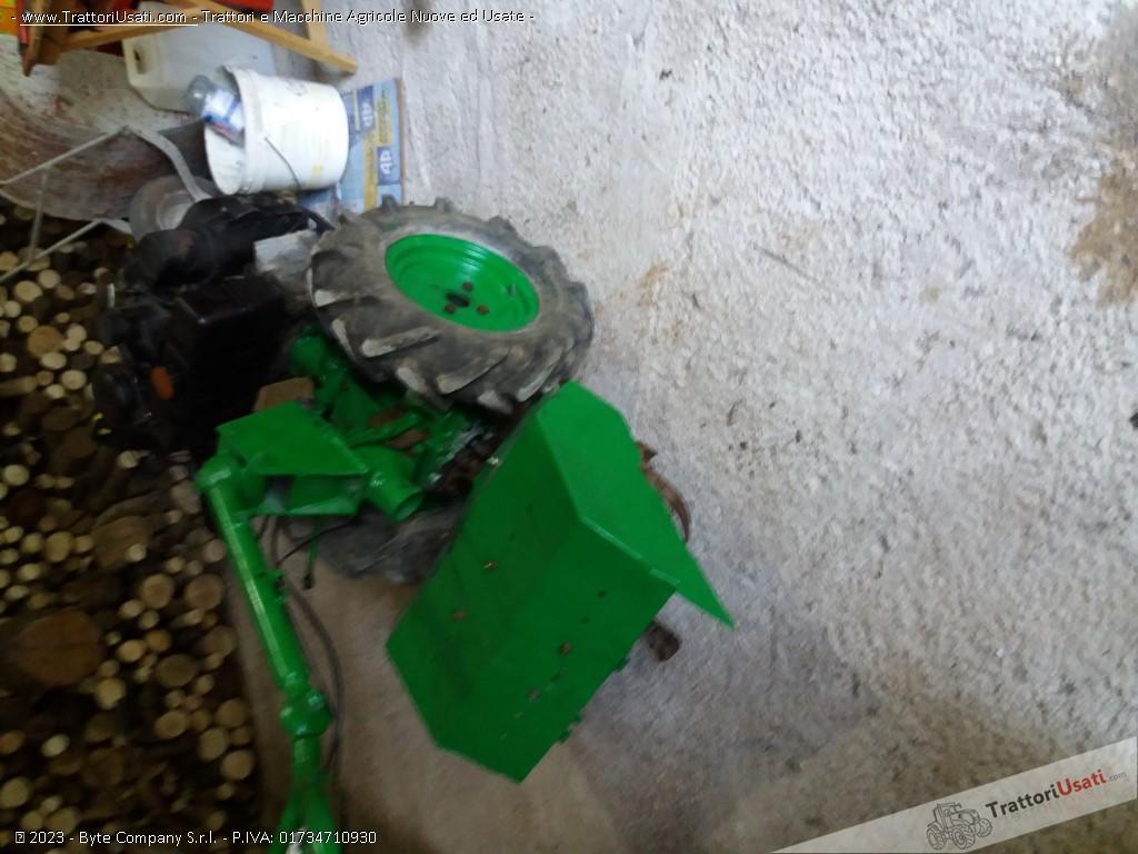 Motozappa lombardini - randi 10 cv 2