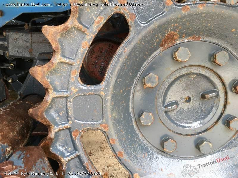 Trattore cingolato landini - trekker 65 f 5