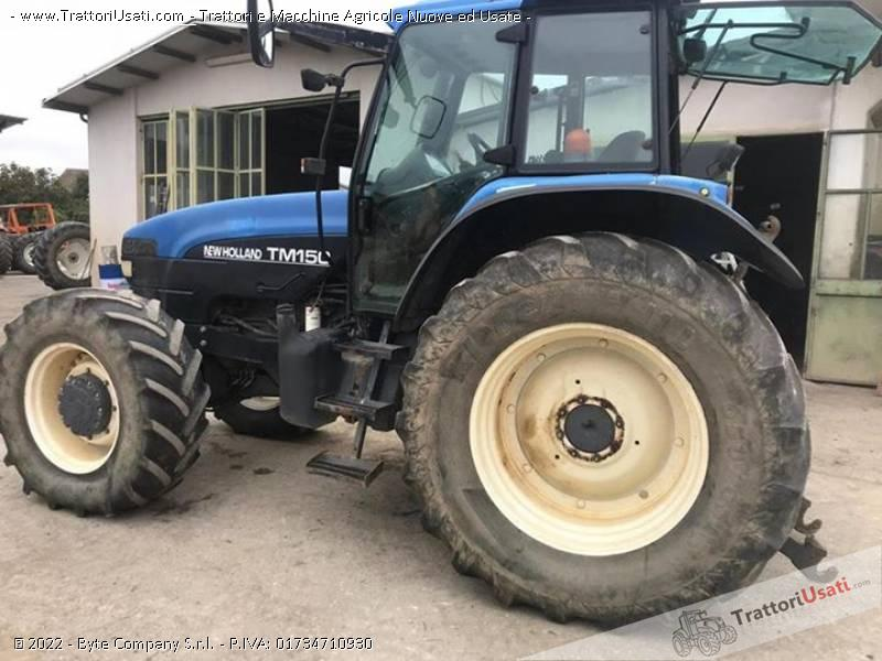 Trattore New holland Tm150