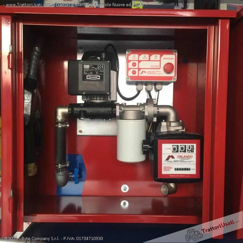 Cisterna gasolio  - 2000 litri seo2 orlando serbatoi 5