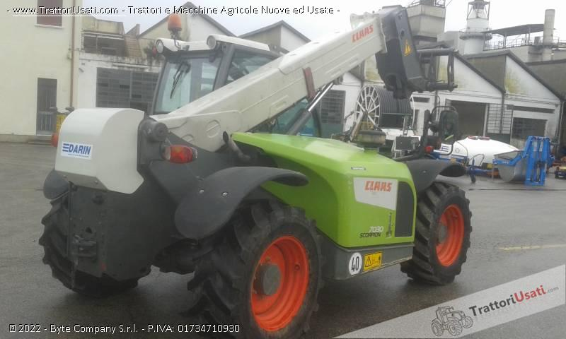 Telescopico claas - scorpion 7030 6