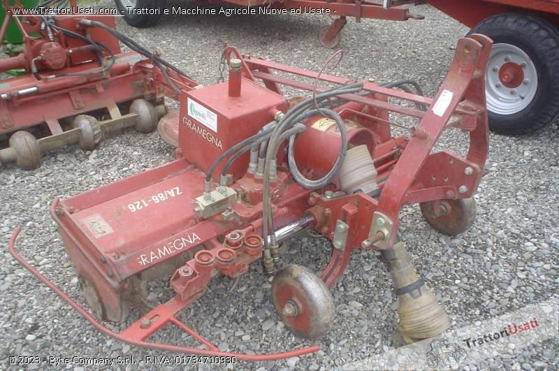 Fresa za 86 126 gramegna achilli flli macchine agricole for Gramegna macchine agricole